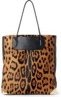 Alexander Wang Prisma Leopardprint Calf Hair Tote - Lyst