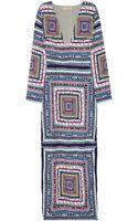 Mara Hoffman Printed Crepe Maxi Dress - Lyst