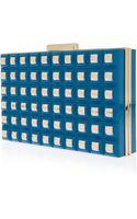 Elie Saab Grid Box Clutch - Lyst