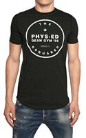 DSquared2 Physed Dean Gym Cotton Jersey Tshirt - Lyst