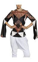 Givenchy Printed Silk Twill Shirt - Lyst