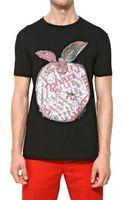 Marc Jacobs Bast Art Print Cotton Jersey Tshirt - Lyst