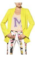 MSGM Viscose Crepe Jacket - Lyst