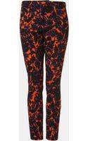Topshop Dandy Floral Print Skinny Pants - Lyst