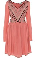 Alice By Temperley Long Sleeve Crepe Dress - Lyst