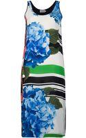 Preen By Thorton Bregazzi Poppy Print Contrast Dress - Lyst