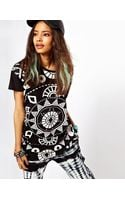 ASOS Collection Oversize Tshirt with Kaleidoscope Print - Lyst
