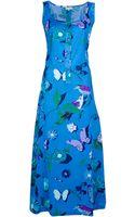 Ken Scott Vintage Sleeveless Dress - Lyst