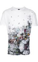McQ by Alexander McQueen Multiprint Tshirt - Lyst