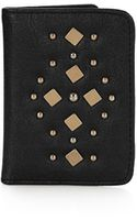 Topshop Studded Card Holder - Lyst