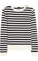Joseph Sailor Striped Cashmere Sweater - Lyst