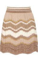 M Missoni Crochetknit Cottonblend Skirt - Lyst