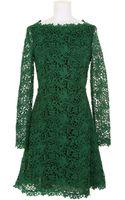 Valentino Long Sleeve Dress - Lyst