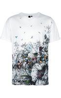 McQ by Alexander McQueen Print Tshirt - Lyst