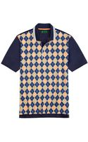 Brooks Brothers St Andrews Links Argyle Polo - Lyst