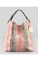 Reed Krakoff Rdk Painted Python Hobo Bag - Lyst