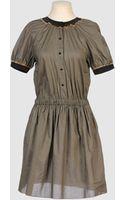 Cynthia Rowley Short Dresses - Lyst