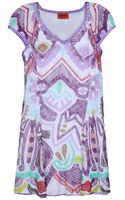 Missoni Short Dresses - Lyst