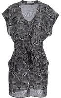 Balmain Short Dresses - Lyst