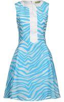 Versace Jeans Short Dress - Lyst