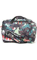 Sprayground The Camo Shark Large Duffle Bag - Lyst