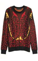 Proenza Schouler Bug Print Knit Pullover - Lyst