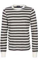 Dolce & Gabbana Striped T-Shirt - Lyst