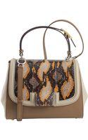Fendi Silvana Open Flap Bag - Lyst