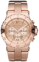 Michael Kors Watches Rose Golden Chronograph Watch - Lyst