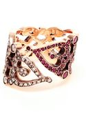 Sabine G Love 18k Rose Gold and Ruby Ring - Lyst