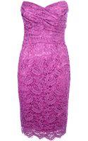 Dolce & Gabbana Strapless Dress - Lyst