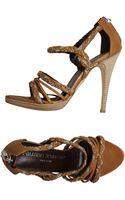 Fauzian Jeunesse' Platform Sandals - Lyst