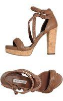 The Seller Platform Sandals - Lyst