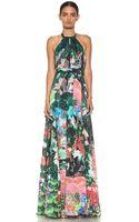 Issa Halter Maxi Dress in Multi - Lyst