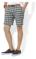 Polo Ralph Lauren Gingham Twill Slim Gi Shorts - Lyst