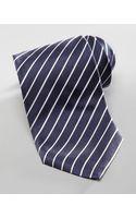 Armani Narrow Striped Silk Tie - Lyst