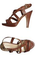 Fabio Rusconi Platform Sandals - Lyst