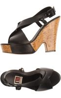 I'm Isola Marras Platform Sandals - Lyst