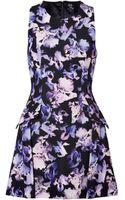 McQ by Alexander McQueen  Printed Cotton Blend Dress - Lyst