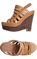 Elizabeth And James Wedges - Lyst