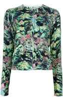 Kenzo Abstract Print Cardigan - Lyst