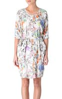 Paul Smith Printed Dress - Lyst