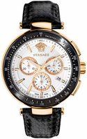 Versace Mystique Unisex White Dial Watch - Lyst
