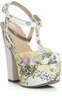 Nicholas Kirkwood For Erdem Chinonprint Platform Shoes - Lyst
