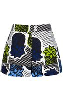 Moschino Cheap & Chic Printed Short - Lyst
