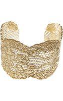 Aurelie Bidermann Honeycomb Lace Cuff - Lyst