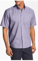 Cutter & Buck Nailshead Regular Fit Epic Easy Care Sport Shirt - Lyst