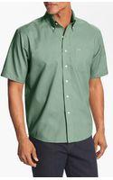 Cutter & Buck Nailshead Regular Fit Epic Easy Care Sport Shirt Big Tall - Lyst