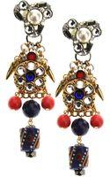 Erickson Beamon Multi-Colour Rhinestone Earring - Lyst