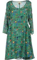 Issa Green Printed Casual Dresses - Lyst